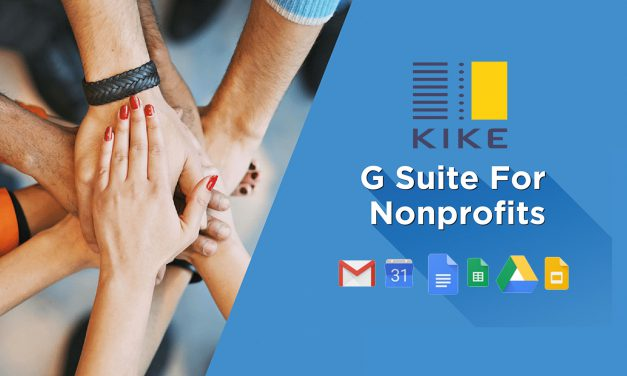 Migracja zespołu KIKE do G Suite for Non-Profits