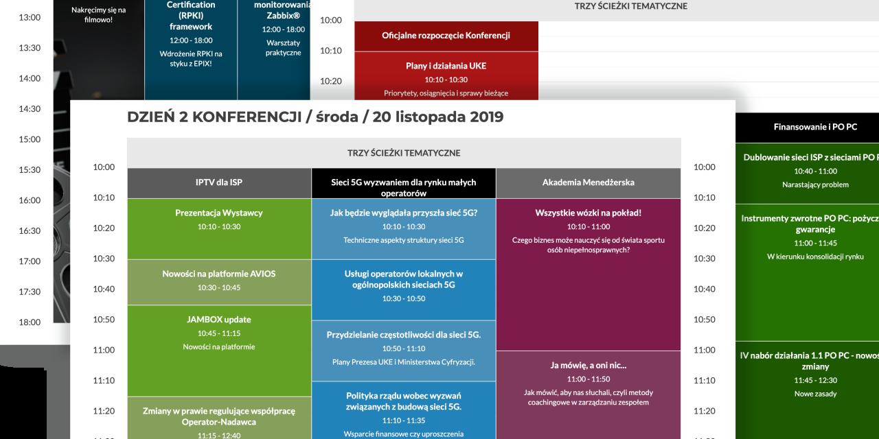 Agenda XXV Konferencji KIKE i Zjazdu MiŚOT, ostatni tydzień najniższych cen!